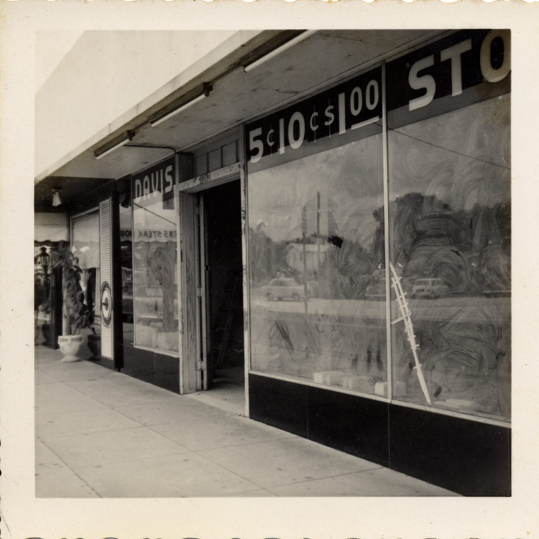 Beer Haven building on Howard Ave in 1956