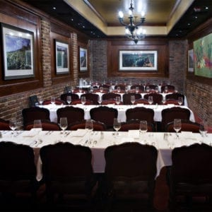 Burgundy Room, Bern's Steak House, Group Dining and Reservations, Tampa FL